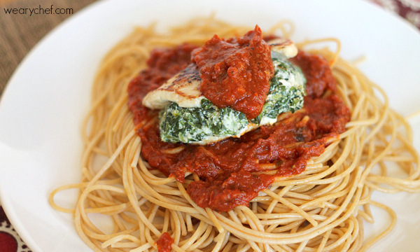 Turkey Florentine Parmesan: A fancy and easy dinner recipe!