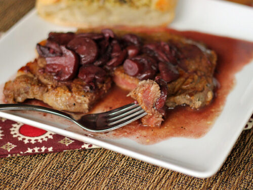 Simple Wine Sauce for Steak