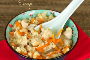 Homemade Chicken and Stars Soup in under 30 Minutes