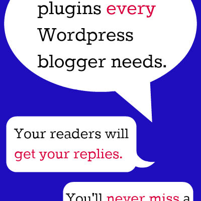 Two Comment Plugins Every WordPress Blogger Needs