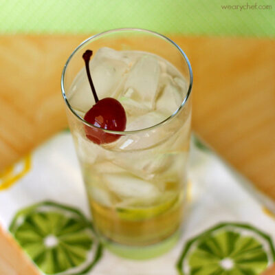 Drambuie and Soda