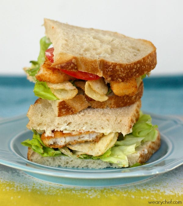 Fish and Chips Sandwich: You will love this fun, 20-minute dinner!