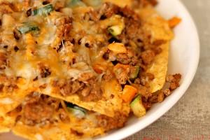 Veggie Loaded Healthy Nachos
