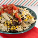 5-Ingredient Southwest Chicken Rice Bowls