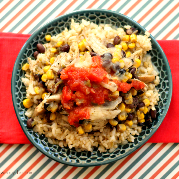 5 Ingredient Southwest Chicken Rice Bowls An Easy Dinner The Whole Family Will Love