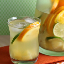 White Pineapple Sangria Recipe