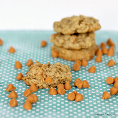 Butterscotch Oatmeal Cookies (Copycat Oatmeal Scotchies)
