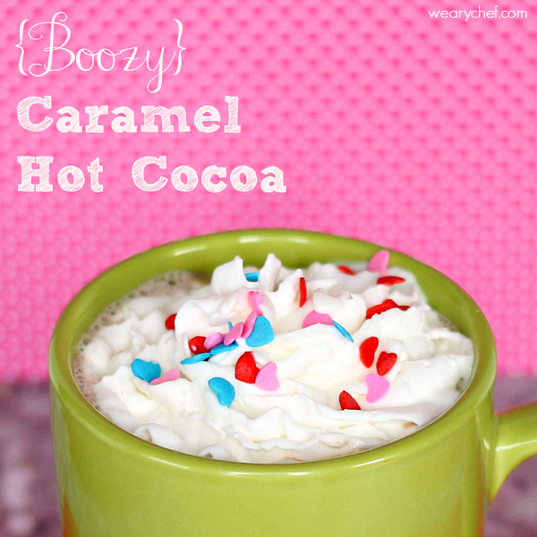 Warm up with this sweet caramel hot chocolate cocktail , a perfect end ...