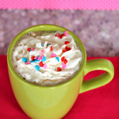 Boozy Caramel Hot Chocolate Cocktail