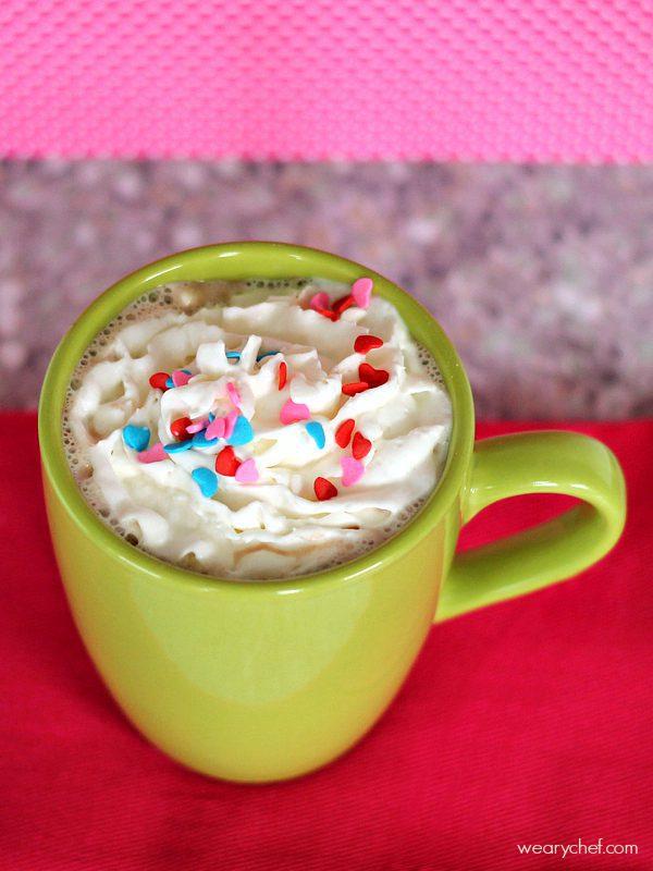 Caramel Hot Chocolate Cocktail