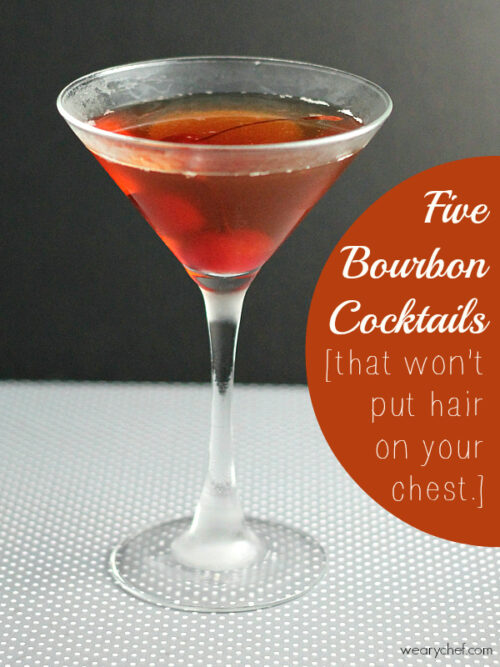 5 Bourbon Cocktails