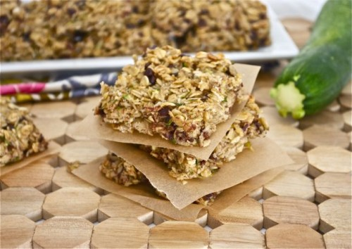 Oatmeal Zucchini Bars | Flavor the Moments
