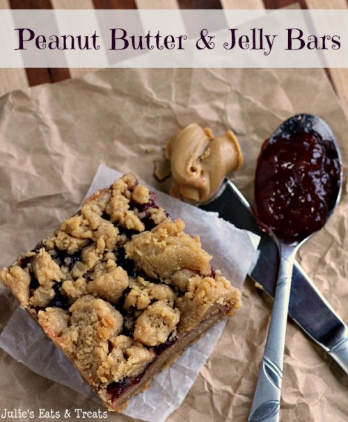 Peanut Butter and Jelly Bars | Julie's Eats and Treats