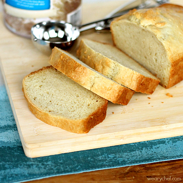Vanilla Ice Cream Bread is so easy to make and tasty!