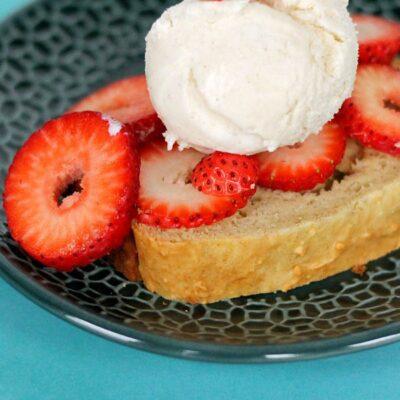 Vanilla Ice Cream Bread