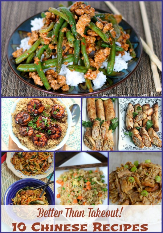 Asian dinner recipes easy weekly dinner menu 62 the weary chef 10 better than takeout chinese recipes dinner forumfinder Gallery