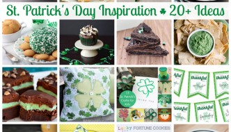 St. Patrick's Day Treats and Projects PLUS a $500 Giveaway! #giveaway #stpatricksday