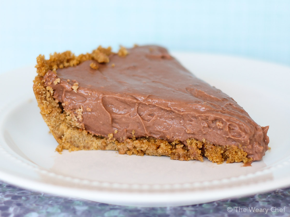 Easy Chocolate Pie Recipe with Pudding and Cream Cheese ...
