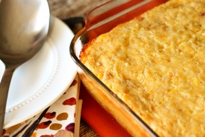 Cornbread Casserole with Chicken (or not!)