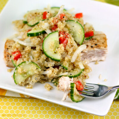 Quinoa and Cucumber Salad Recipe