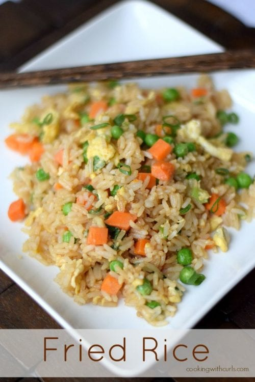 Fried Rice | Cooking with Curls