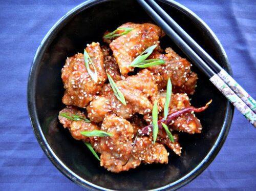 General Tso's Chicken | Cherry on My Sundae