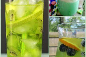 Green Drink Recipes for St. Patrick's Day and Spring!