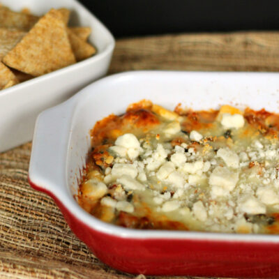 Hearty Hot Spinach Dip Recipe