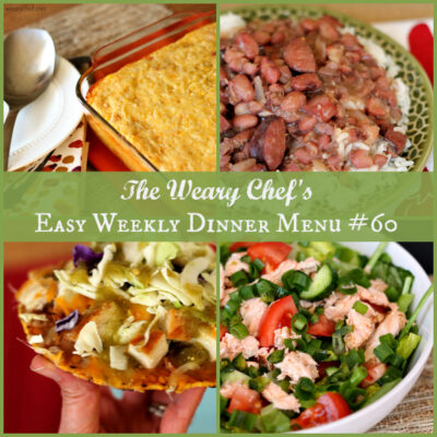 Easy Weekly Dinner Menu #60 – Simple Southern Dinners