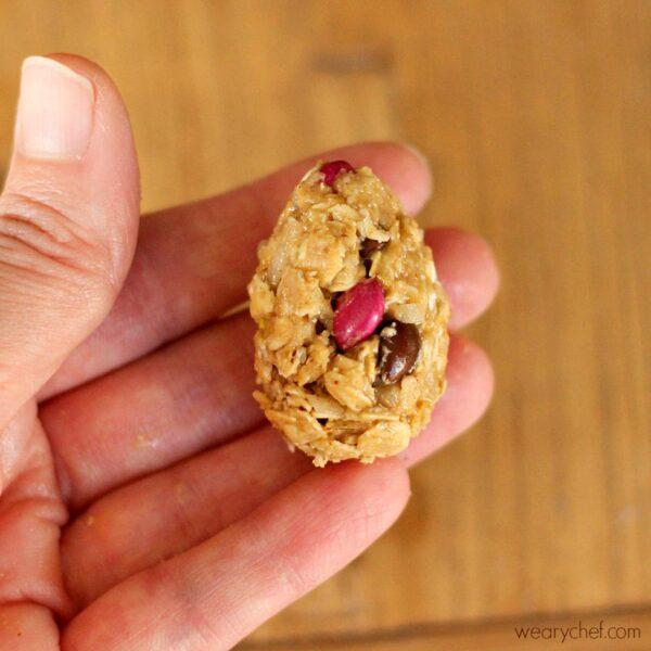 Oatmeal Peanut Butter Easter Eggs