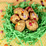 Oatmeal Peanut Butter Easter Eggs
