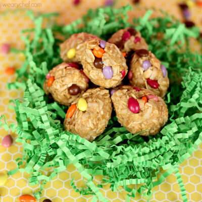 Oatmeal Peanut Butter Easter Eggs: A Healthy No Bake Recipe!