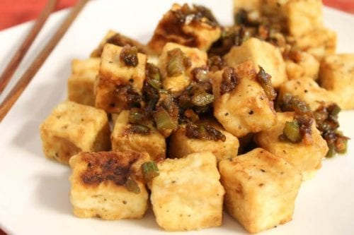 Salt and Pepper Tofu | Confessions of a Chocoholic