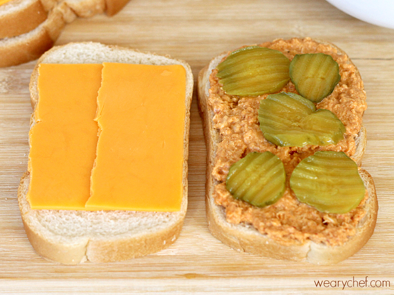 Spicy Tuna Melts: Make these tasty sandwiches in your waffle iron, panin press, or skillet! #sandwich #HiddenValleyIt