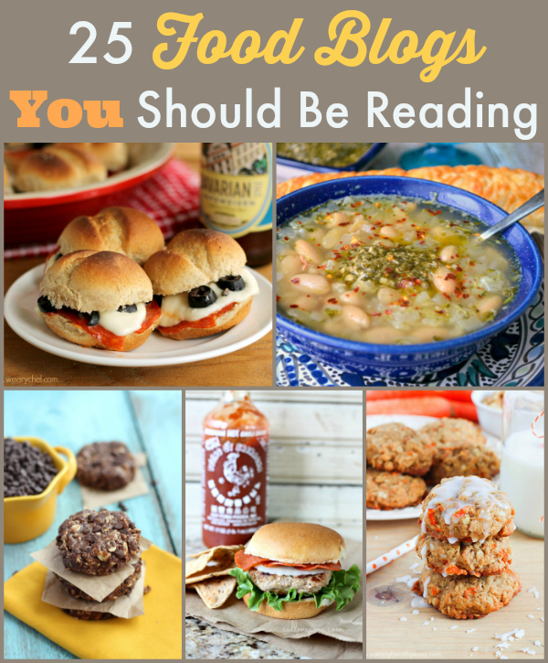 25 Food Blogs You Should Be Reading