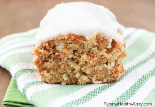 Carrot Coconut Bread | Yummy Healthy Easy