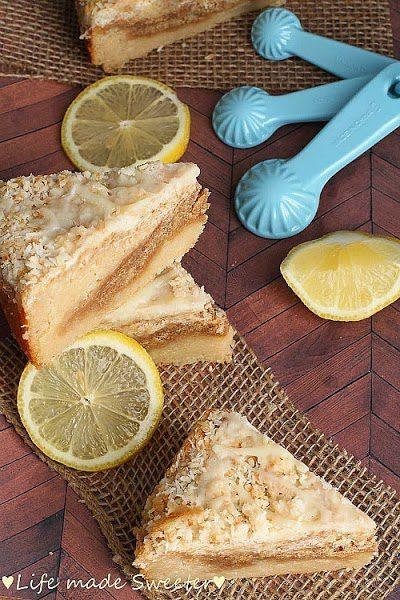 Lemon Coconut Streusel Coffee Cake | Life Made Sweeter