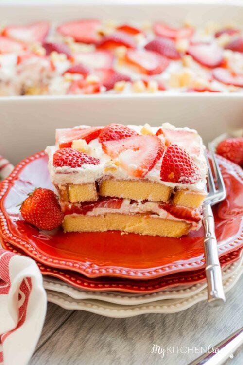Strawberry Tiramisu by My Kitchen Craze