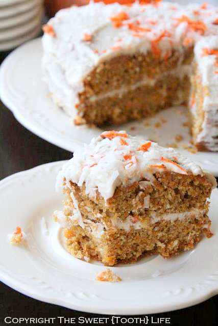 Triple Coconut Sweet Potato Cake | The Sweet Tooth Life