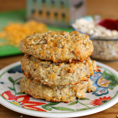 Oatmeal Cheese Biscuits