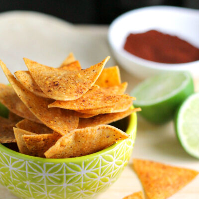 Chili Lime Baked Chips – Born to Be Dipped