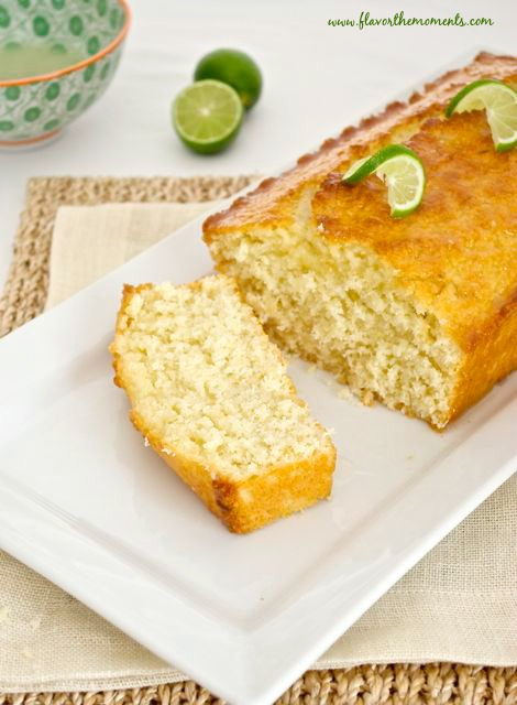 Key Lime Coconut Tea Bread | Flavor the Moments