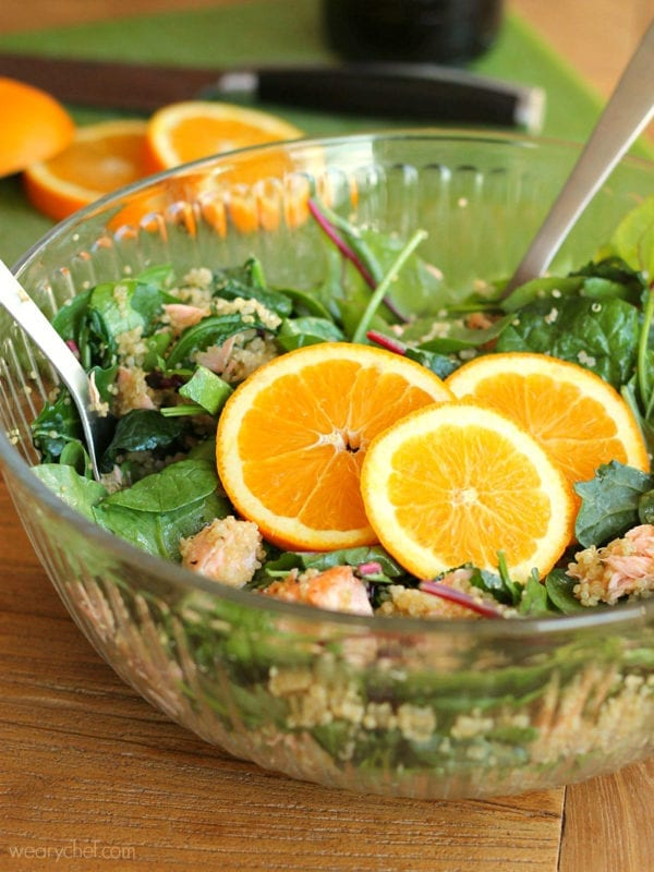 ... healthy, flavorful Kale and Quinoa Salad tastes like summer in a bowl