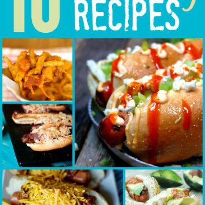 10 Fun Hot Dog Recipes