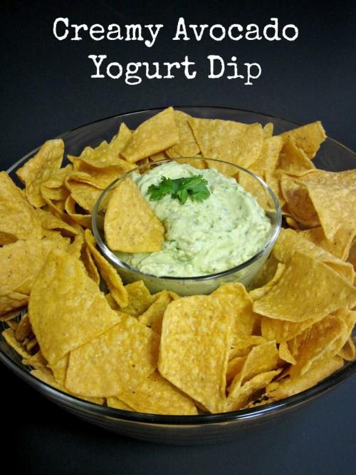 Creamy Avocado Yogurt Dip   Love to Be in the Kitchen