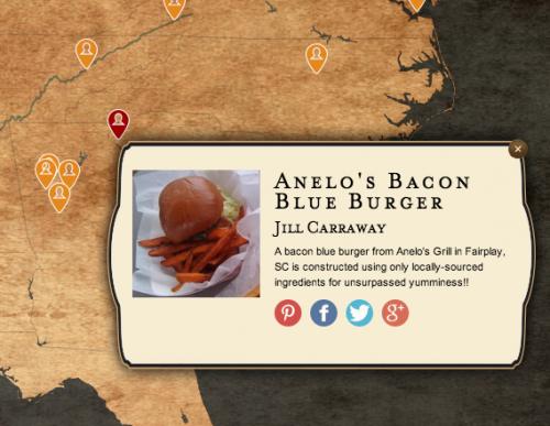 Burger Nation Map