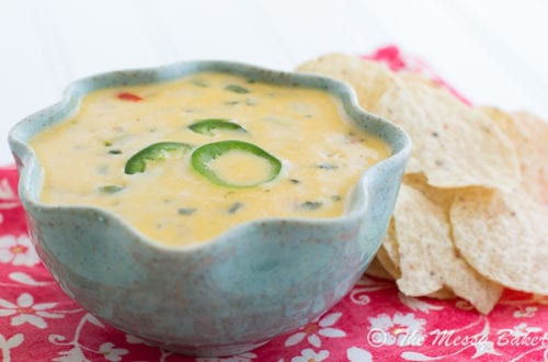 Spicy Queso Blanco | The Messy Baker
