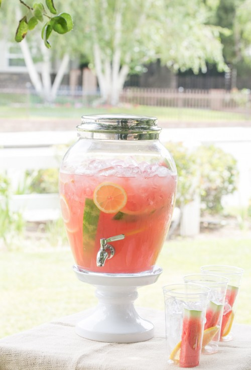Watermelon Lemonade | Sugar and Charm