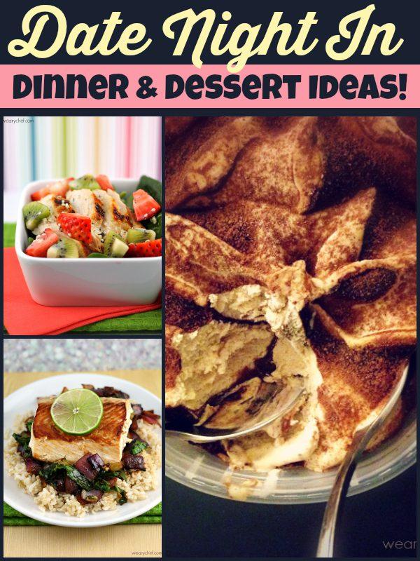 Date-Night-In Dinner and Dessert Ideas with Breyers Gelato