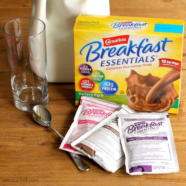 Carnation Breakfast Essentials: Dark Chocolate Protein Smoothie